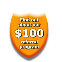 Find out about our $100 dollar referral prodram